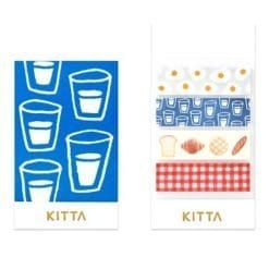 KITTA Washi Stickers Breakfast KIT012