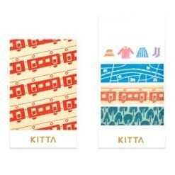 KITTA Washi Stickers Travel KIT030