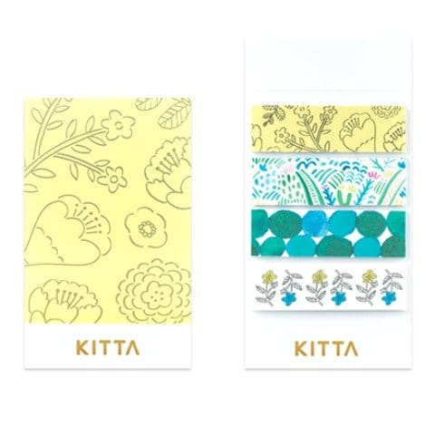 Kitta Washi Stickers Plants KIT036