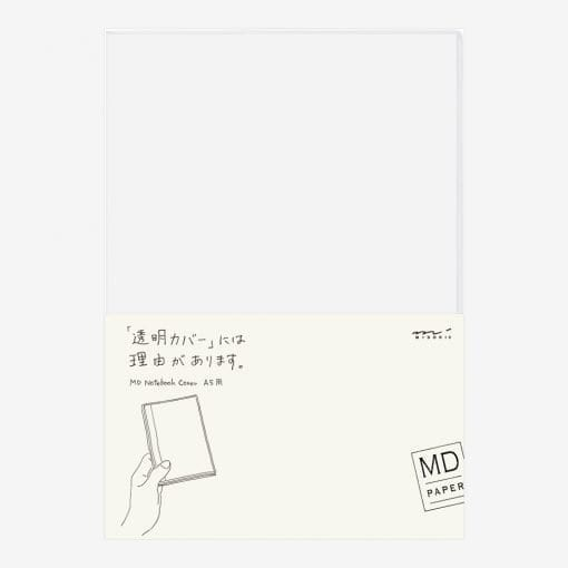 MD Paper Clear Notebook Cover A5