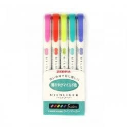 Zebra Mildliner Bright Set_1
