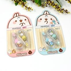 Molang Bunny Mini Correction Tape Set of 2