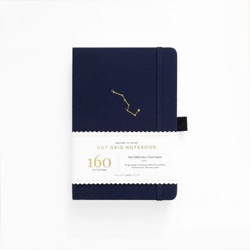 Archer & Olive A5 Night Sky Dot Grid Notebook