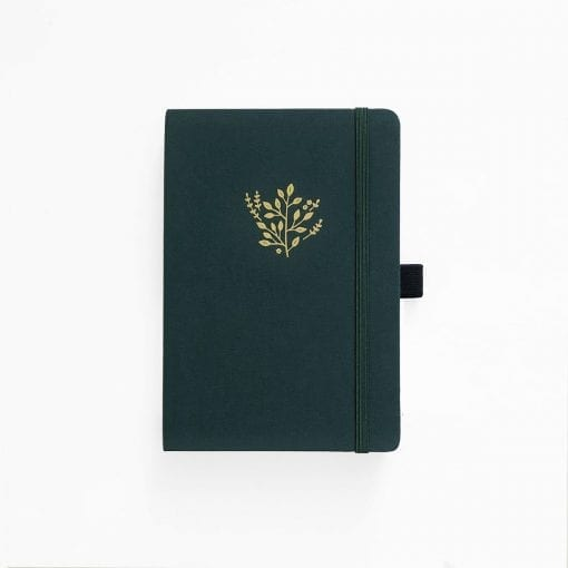 Archer and Olive Deep Green A5 Dot Grid Notebook_2
