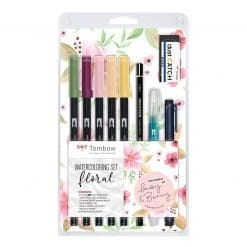 Tombow Watercolour Floral Set