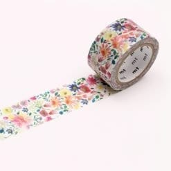 MT Bluebellgrey Zinnia Washi Tape