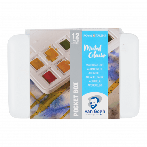 Van Gogh Muted Colours Watercolour Set