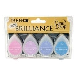 Tsukineko Brilliance Dew Drop Jewel Tone set