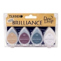 Tsukineko Brilliance Dew Drop Earth Tone