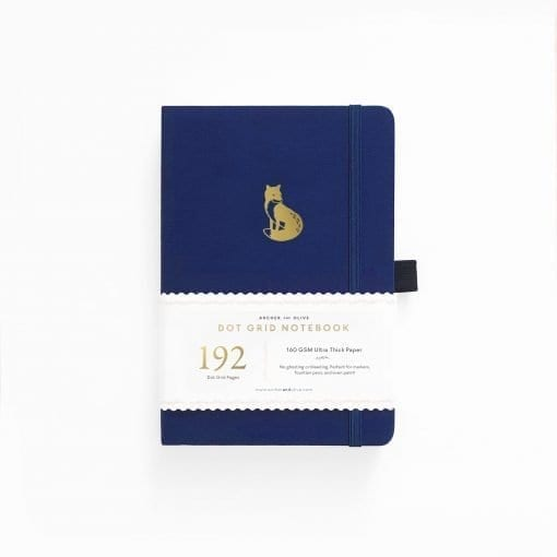 Archer & Olive Clever Fox 192 pages A5 dot grid notebook