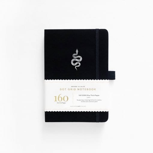 Archer and Olive_A5 Garden Slither dot grid notebook