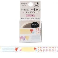 Masté Pre-Cut Title 'Heart' Washi Tape