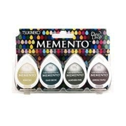 Tsukineko Memento Dew Drop Ink Pads 4-Pack - Central Park