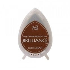Tsukineko Brilliance Ink Pad Coffee Beans