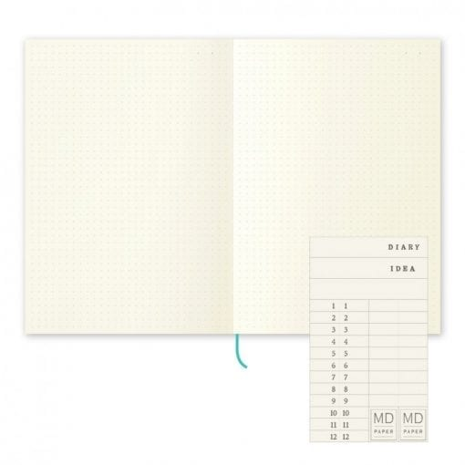 MD Paper A5 Notebook, Dot Grid Paper