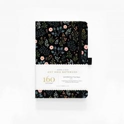 A5 Archer & Olive Moon Night Garden Dot Grid Notebook