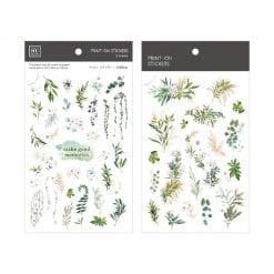 MU Print-On Stickers - Greenery