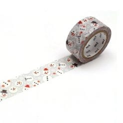 MT 'Snowman Dot' Washi Tape