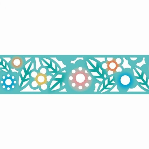 MT Fab Cutout Flower Die-Cut Washi Tape