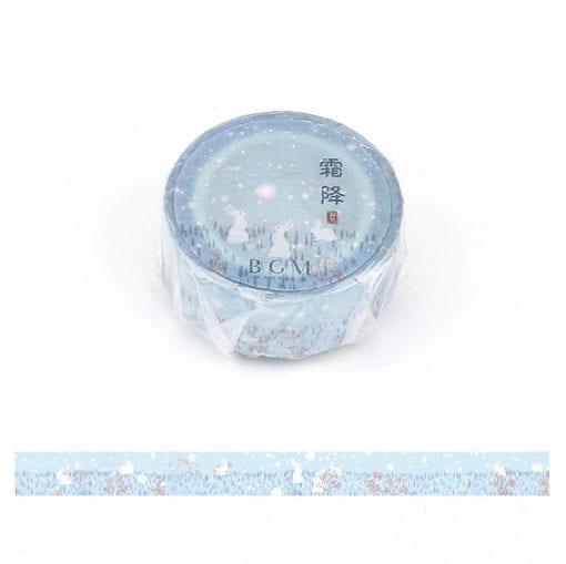 BGM First Snow Washi Tape