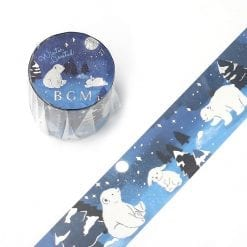 BGM Winter Nights Washi Tape