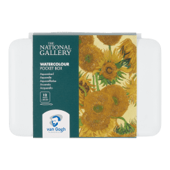 Van Gogh 'The National Gallery' Watercolour Pocket Box set of 12