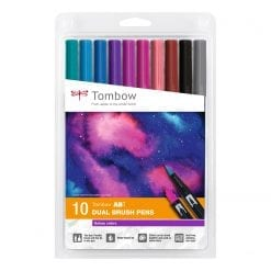 Tombow ABT Dual Brush Pens Galaxy - Set of 10