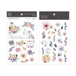 MU Print-On Stickers - Blooming Garden