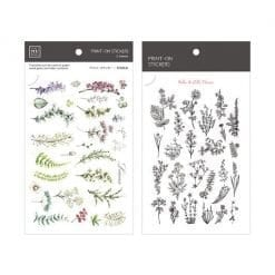 MU Print-On Stickers - Herbs & Wild Flowers