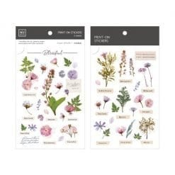 MU Print-On Stickers - Herbarium
