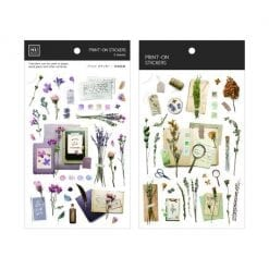MU Print-On Stickers - Dried Flowers