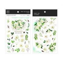MU Print-On Stickers - Blooming