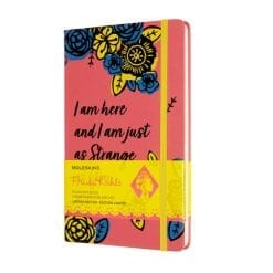 Moleskine Limited Edition Frida Kahlo Large Notebook - plain
