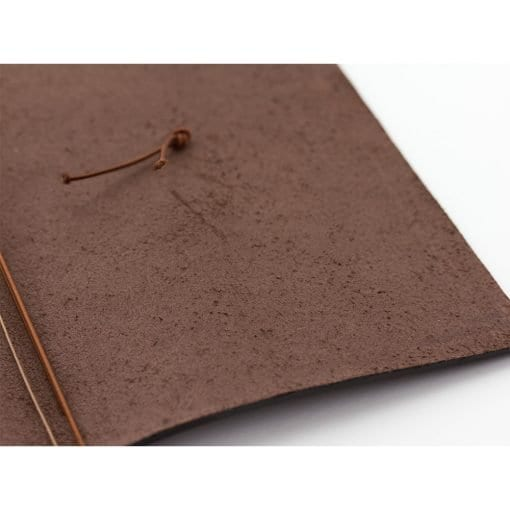 Traveler's Company Notebook Standard Size Brown Cover
