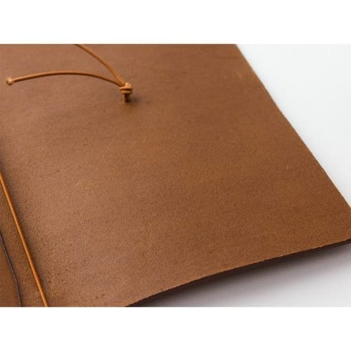 Traveler's Notebook Leather Cover Camel by Traveler's Company Japan
