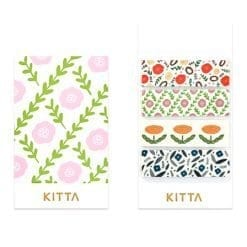 Kitta Washi Sticker Flowers 3 KIT027
