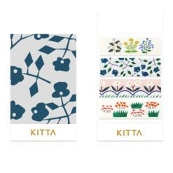 Kitta Washi Stickers Flower KIT057