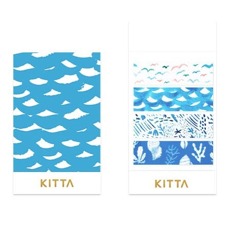 KITTA Clear Stickers - By the Sea