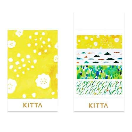 KITTA Clear Stickers - Mountain