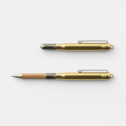 Traveler's Company Brass Ballpoint Pen Made in Japan