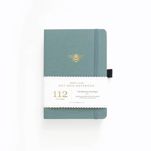 B6 Archer & Olive Vintage Bee Dot Grid Notebook