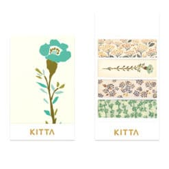 KITTA Washi Stickers - Flower 4 KIT049