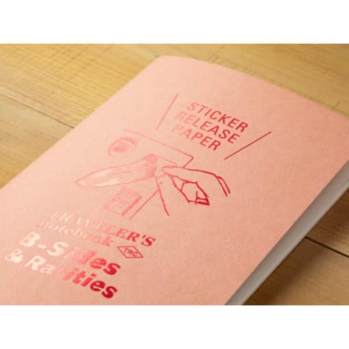 TRAVELER'S Limited Edition Notebook - Regular Refill Sticker Release Paper