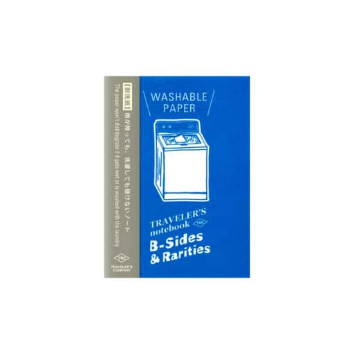 TRAVELER'S Limited Edition Notebook - Passport Size Refill Washable Paper