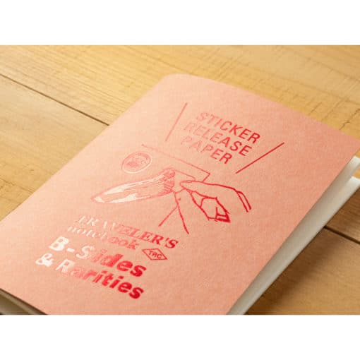 TRAVELER'S Company Limited Edition Notebook - Passport Size Refill Sticker Release Paper