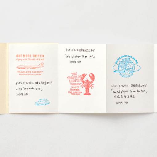 TRAVELER'S Company Limited Edition Notebook - Passport Size Refill Accordion Fold Paper