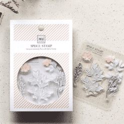 MU LifeStyle Clear Stamp Set No. 17