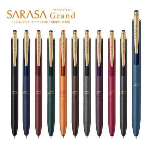 Zebra Sarasa Grand Vintage Colours Gel Pen