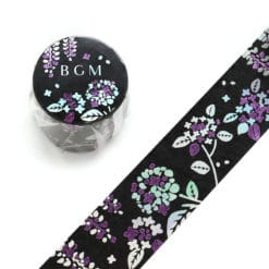 BGM Wisteria Wide Washi Tape Japan