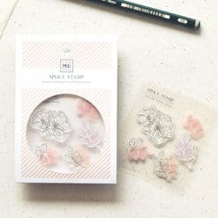 MU LifeStyle Clear Stamp Set No. 15